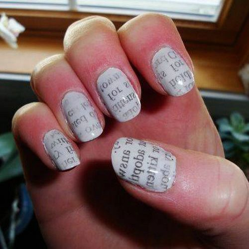 Easy Nail Designs For Short Nails Tumblr   Nail Design Idea