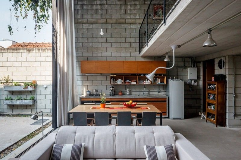 Attractive Modern Industrial Interior Design: Excellent Industrial ...