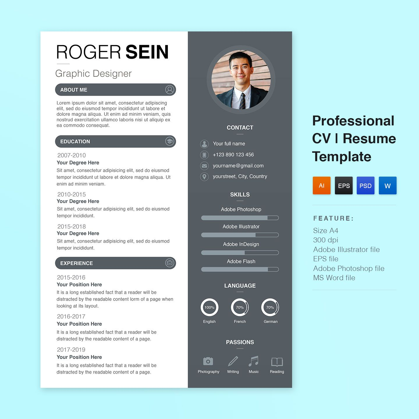 Best Free Download Of Resume Templates for Professional