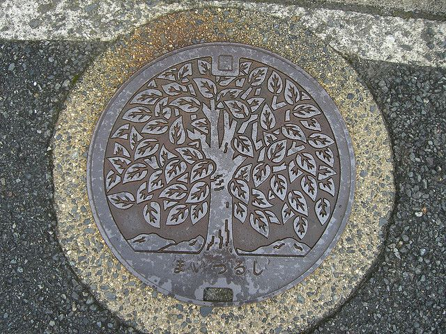 Manhole cover design pinterest trondheim wood art