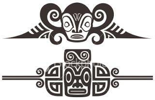 Bildergebnis für maorie tattoo leiste vorlagen