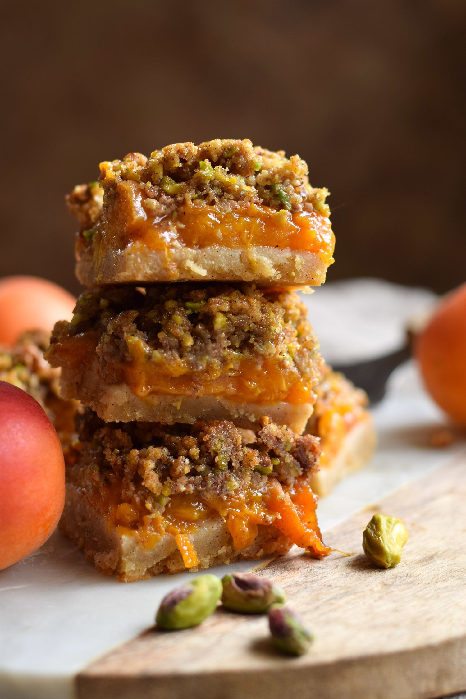 Gluten free apricot baklava bars (With images) Fodmap