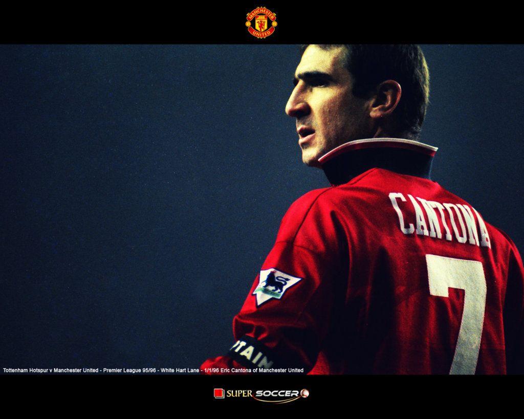 Eric Cantona Manchester United Wallpaper HD 2