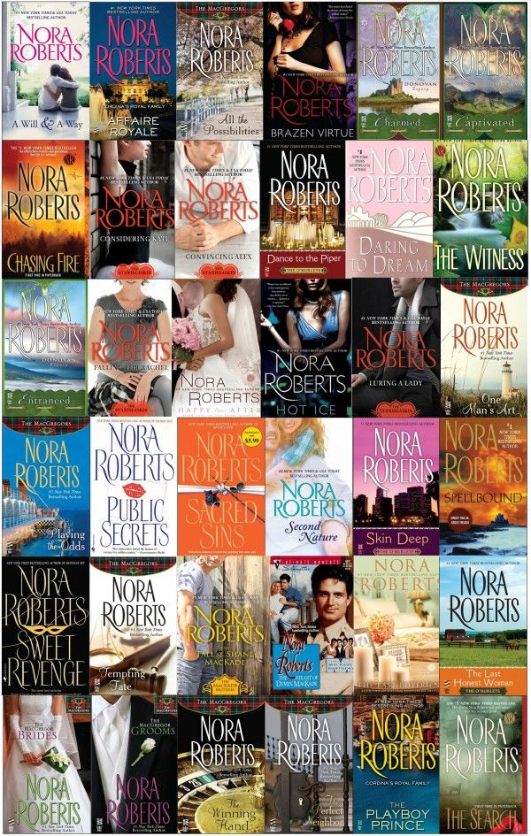 Nora Roberts's three decades of writing have led to 200 books
