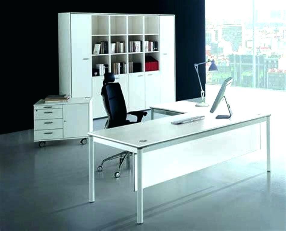 L Shaped Office Desk Modern Https Www Otoseriilan Com In 2020 White Computer Desk Modern White Desk White Desk Office