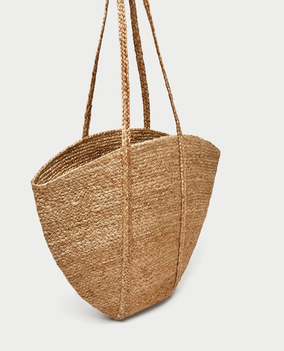 Image 5 of MAXI RAFFIA BASKET from Zara | Outfits en 2018 ...