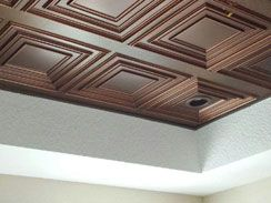 Cheap Decorative Ceiling Tiles Brilliant Glueup Ceiling Tiles  Ideas For The House  Pinterest  Ceiling Decorating Inspiration