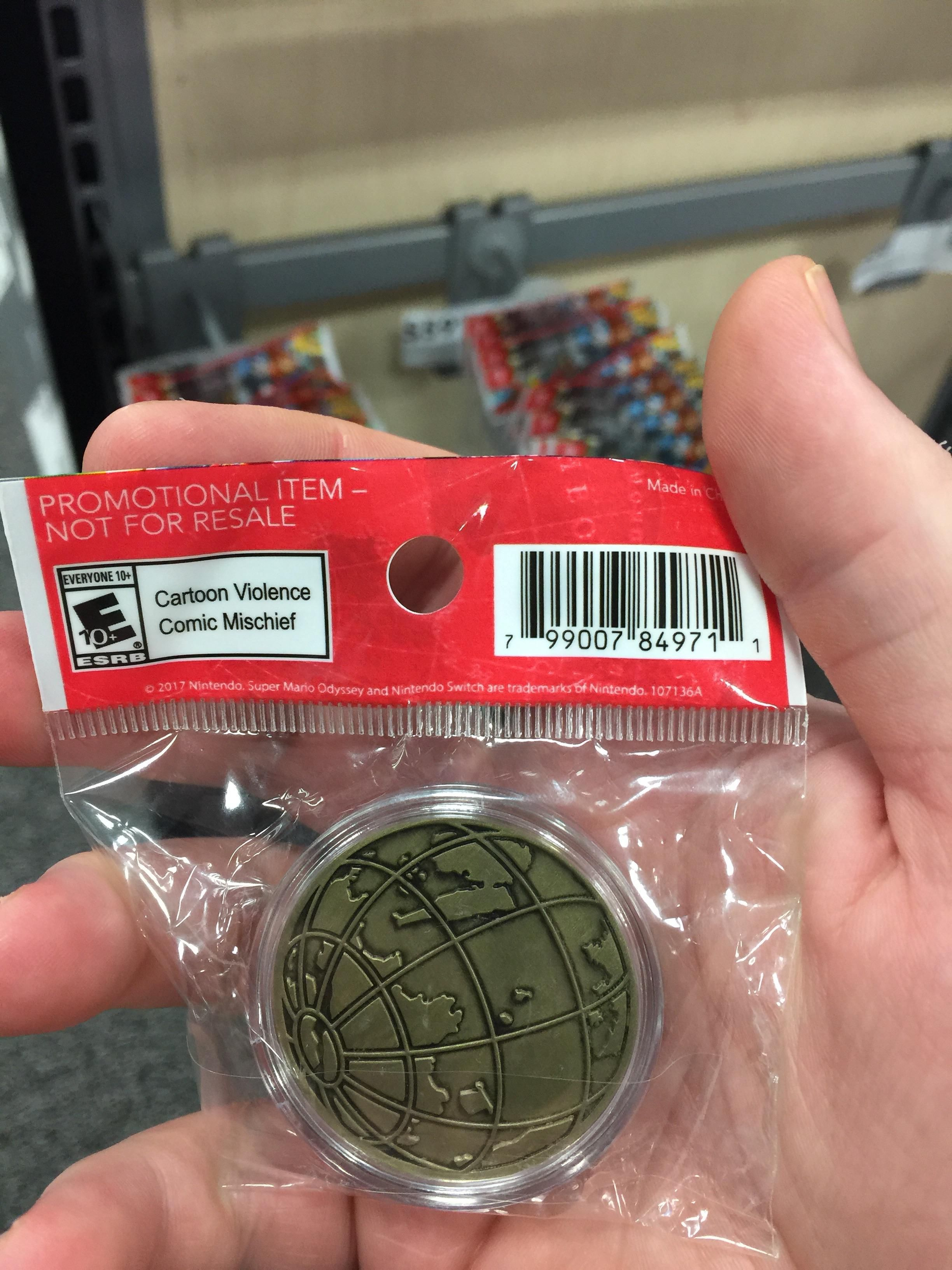 Best Buy is selling the collectible coins from Super Mario