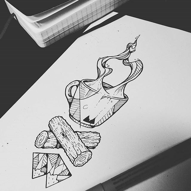 #LauraPalmer #Tattoo #Finger #Sketch Idea, Project, Illustration, Art - Photo by @blackworknow - Follow #extremegentleman for more pics like this!