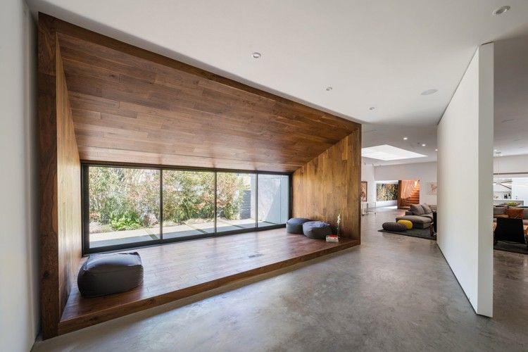 Dan Brunn rénove une maison conçue par Frank Gehry à Los Angeles - peinture de facade maison