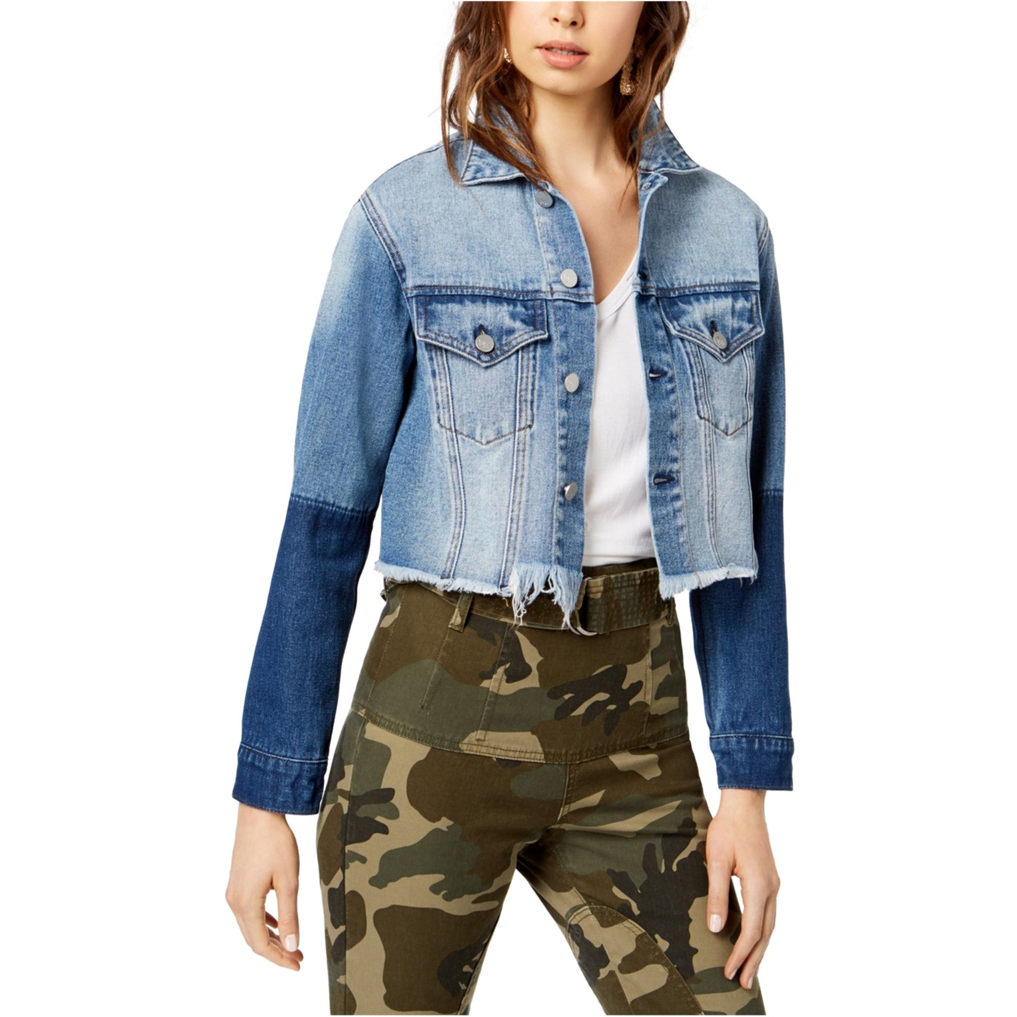 Kendall Kylie Kendall Kylie Womens Cropped Jacket Walmart Com Womens Cropped Jacket Denim Jacket Casual Denim Jacket [ 2000 x 2000 Pixel ]