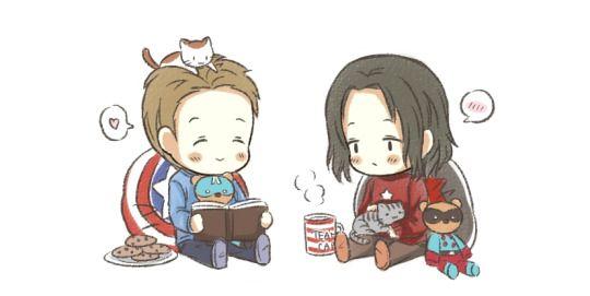 Kuro's Nest | Cap 'n Bucky | Bucky barnes fanart, Captain