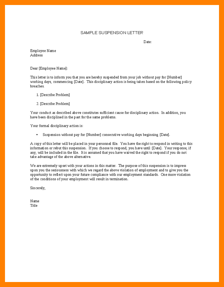Image result for suspension letter for employee | jing | Lettering