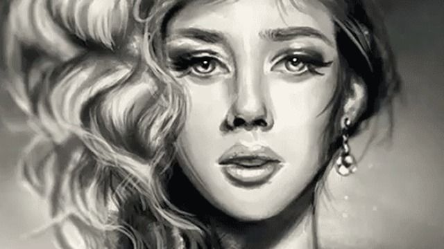 How to shade black and white realistically in digital painting tuts design illustration article