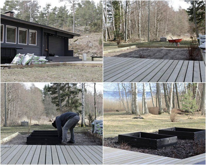 time of the aquarius: Patio project