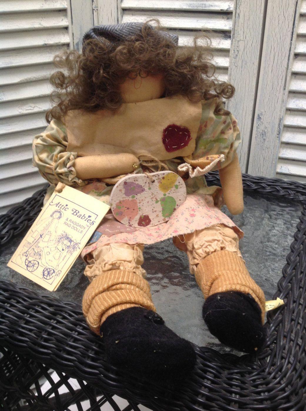 Vintage Attic Babies Dottie Doodles Doll by Marty Maschino by GrandmaRietas onu2026 & Vintage Attic Babies Dottie Doodles Doll by Marty Maschino by ...