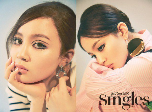 Lee Hi is a 60s beauty for 'Singles' magazine! | Koogle TV