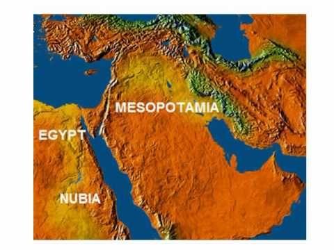 Patterns Of Ancient Civilizations Mesopotamia Egypt Ancient - Map of egypt and mesopotamia