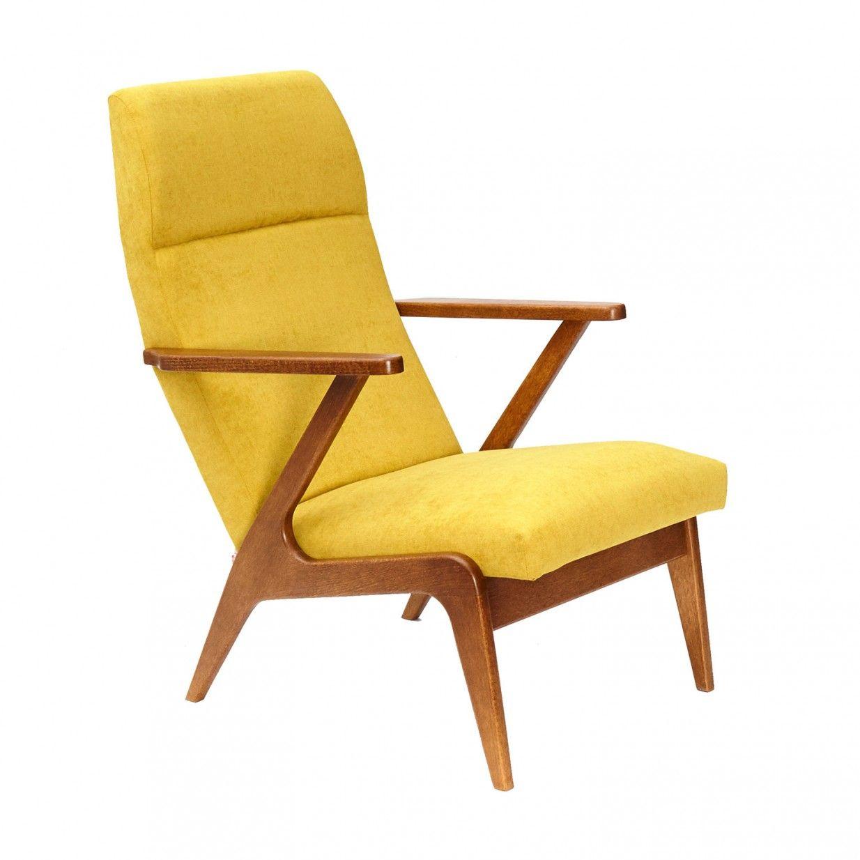 Sessel Senfgelb lounge sessel gelb dekoration ideen