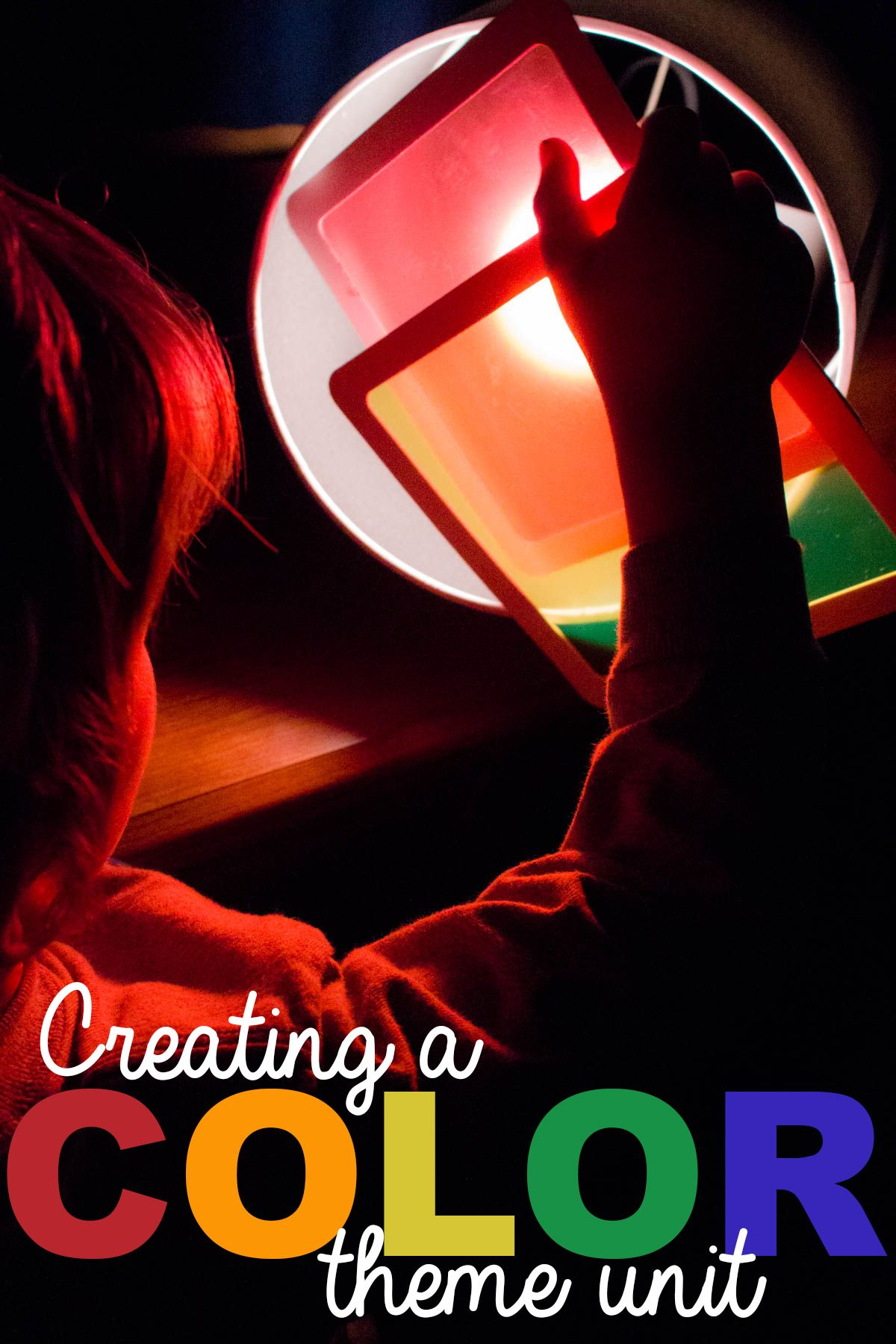 Learning colors art activities for preschool - Creating A Color Theme Unit For Kids