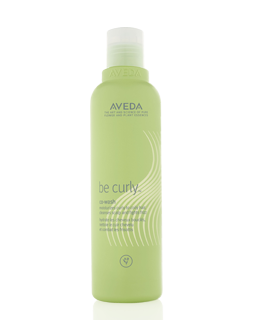Be Curly™ Co-Wash - cleanses scalp, moisturizes curls Find out more at Aveda.co.uk
