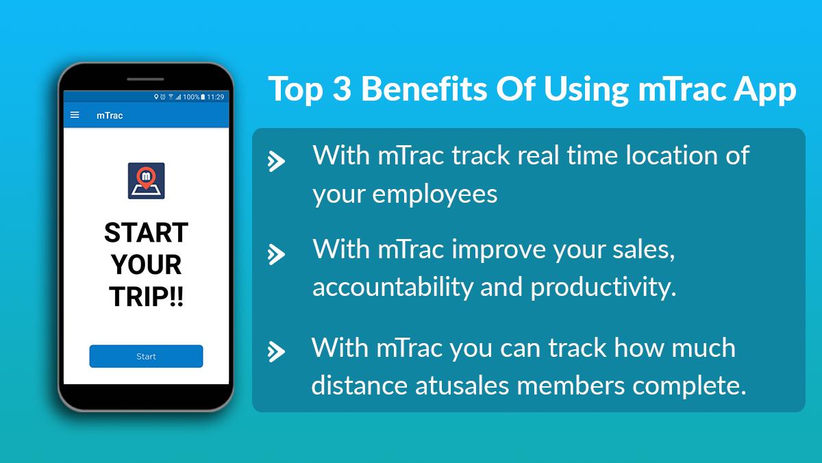 Top 3 benefits of using mTrac App. Improve yourself, App