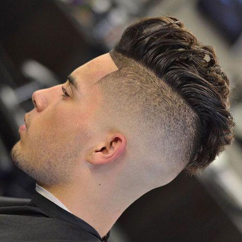 High Quality Shaved Undercut + Faux Hawk