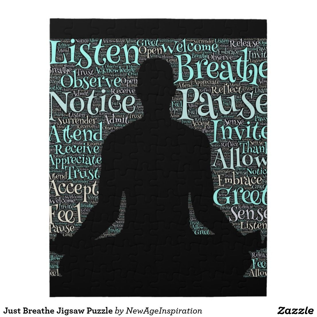 Just Breathe Jigsaw Puzzle Just breathe