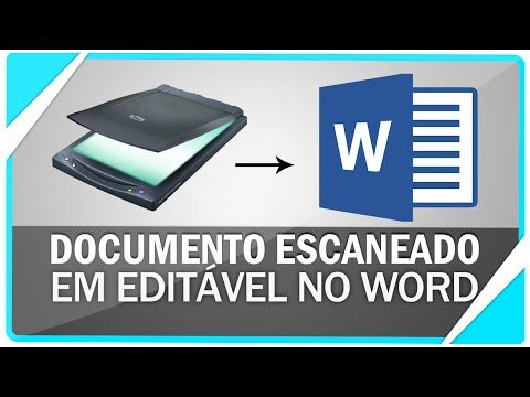 Como converter documento escaneado para editável no Word ( SEM PROGRAMAS ) - YouTube