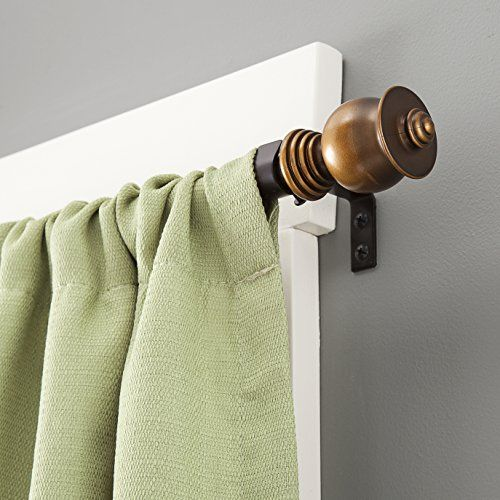 Kenney Parker Window Curtain Rod 28 To 48inch Oil Rubbed Bronze