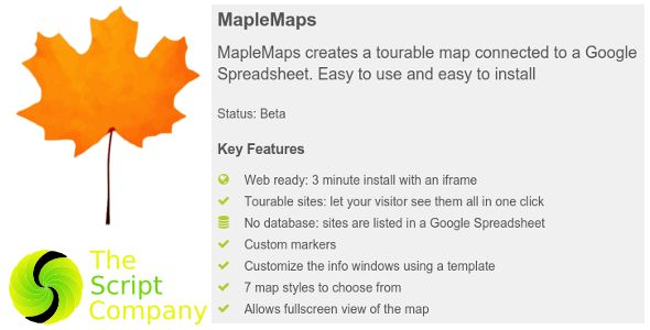 MapleMaps Code-Scripts-and-Plugins Pinterest - Google Spreadsheet Api Key
