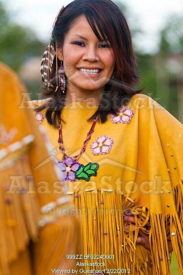 Photo Of Female Athabascan Dancer At The Morris Thompson Visitor Center Fairbanks Interior