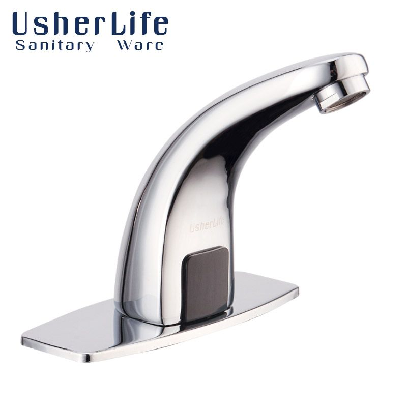 Usherlife Single Cold Automatic Faucet Bathroom Sensor Faucet In ...