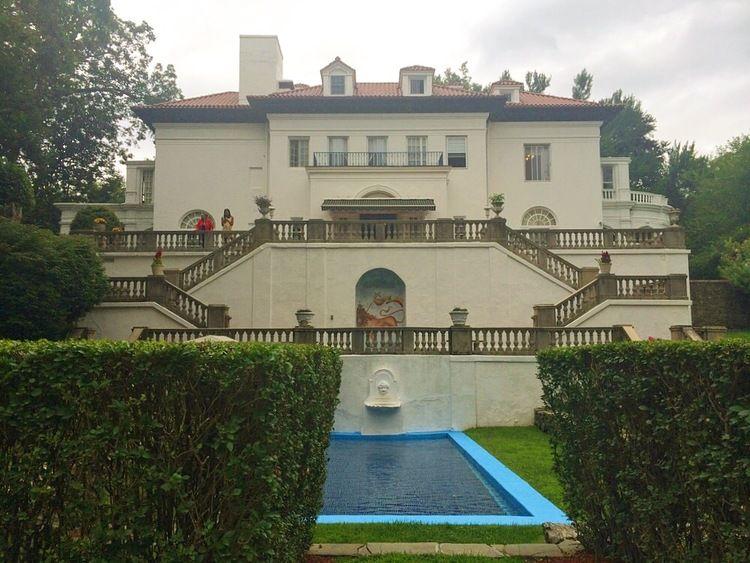 Inside Villa Lewaro The Estate Of Madame Cj Walker America S