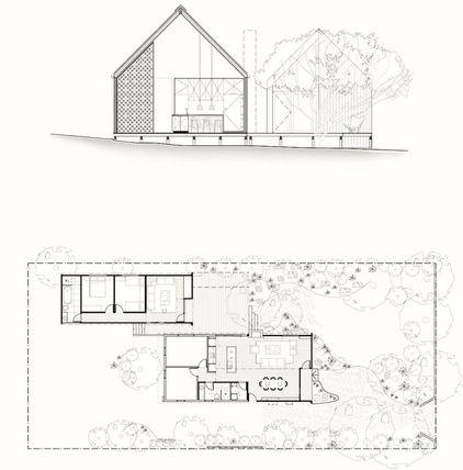 Houzz Tour Compact Beach House With Room To Grow New House Plans Beach House House