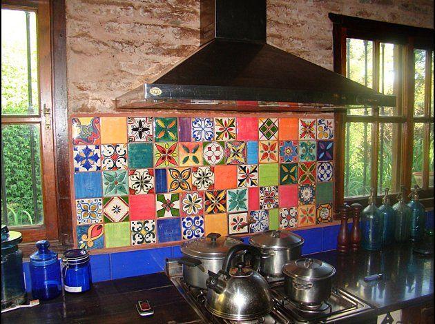 Azulejos Cocina Cocinas Mexicanas Cocinas Azulejos Y Fondo De