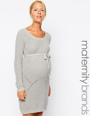 f00c809fad5e Mamalicious+Cable+Knit+Jumper+Dress | Maternity style | Cable knit ...