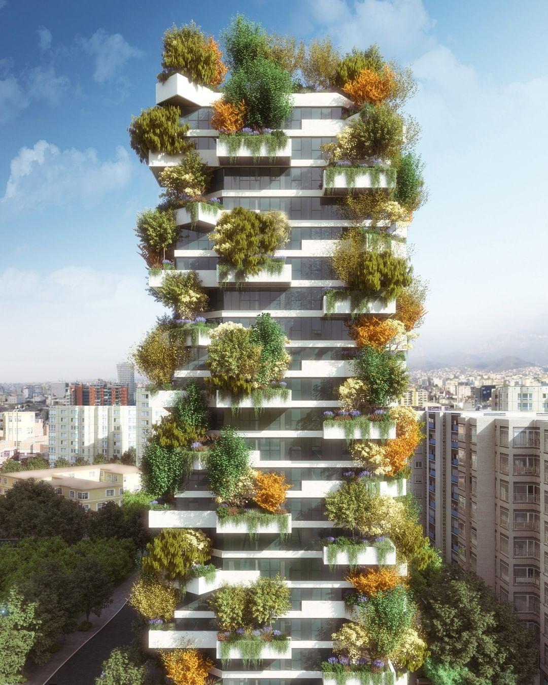 Modern Italian Garden Design: Italian Architect @stefanoboeriarchitetti Has Designed A