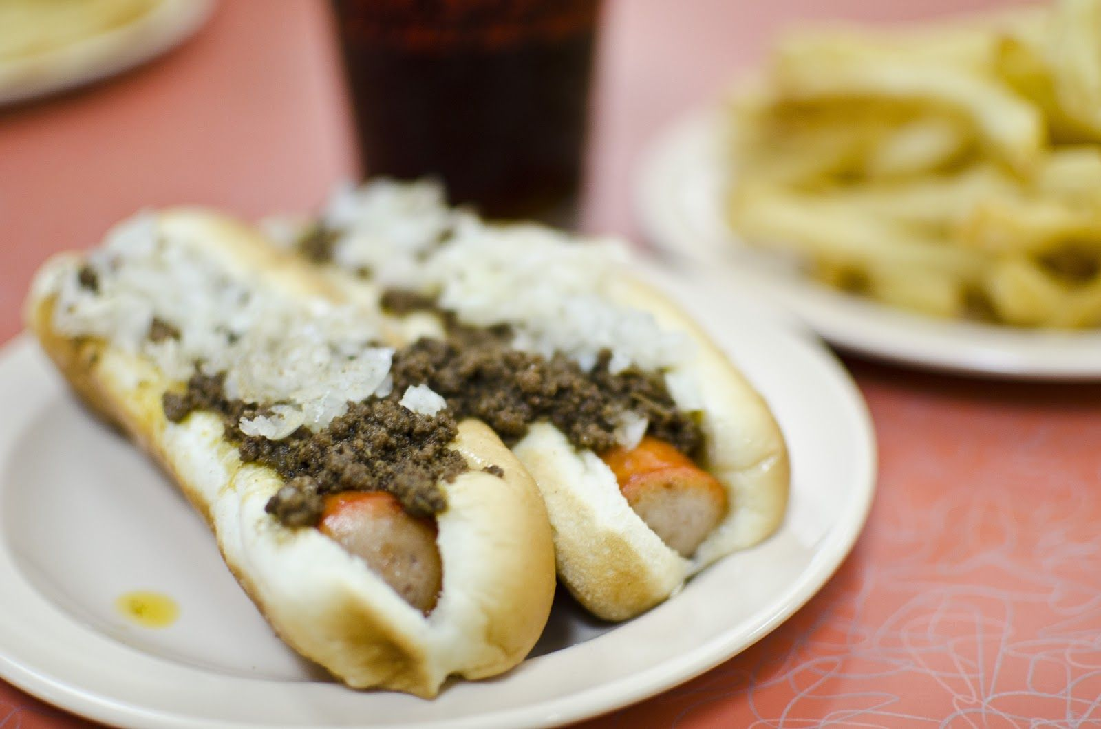 """Hot Weiner Special"" at Olneyville N.Y. System in ..."