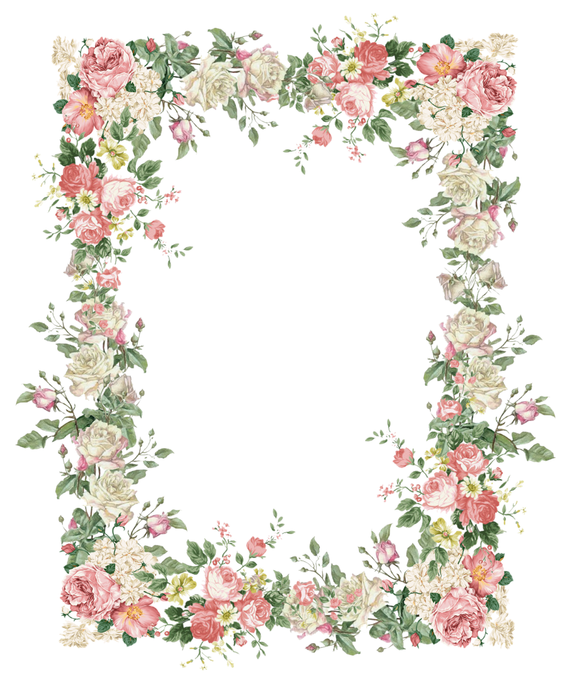 Frames Floral Em Png: Pin By Purva Jogdeo On Tea Parties