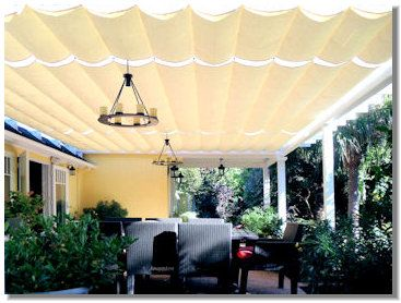 Cable Awning On Existing Wood Structure Canopy Outdoor Canopy Bedroom Ikea Canopy