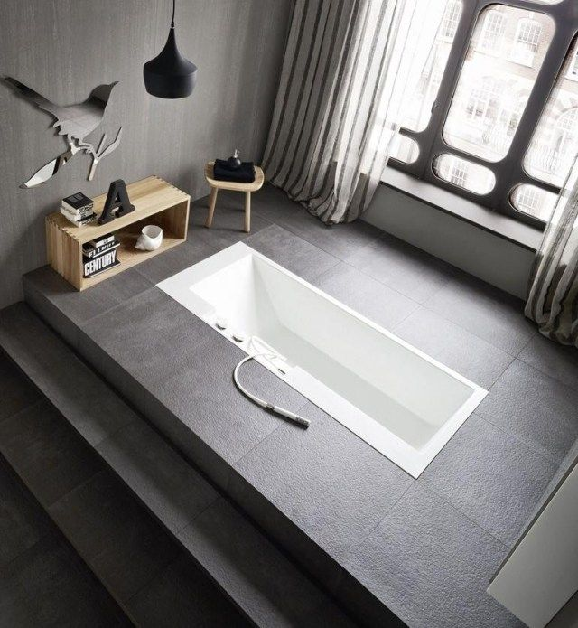 le design salle de bains id al quelle baignoire choisir badezimmer. Black Bedroom Furniture Sets. Home Design Ideas