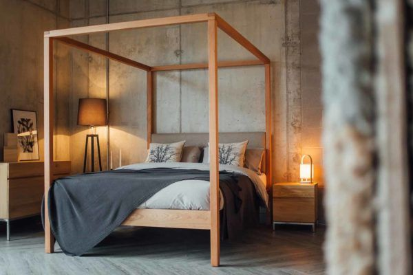 Image result for side view four poster bed 2018 furniture in 2018