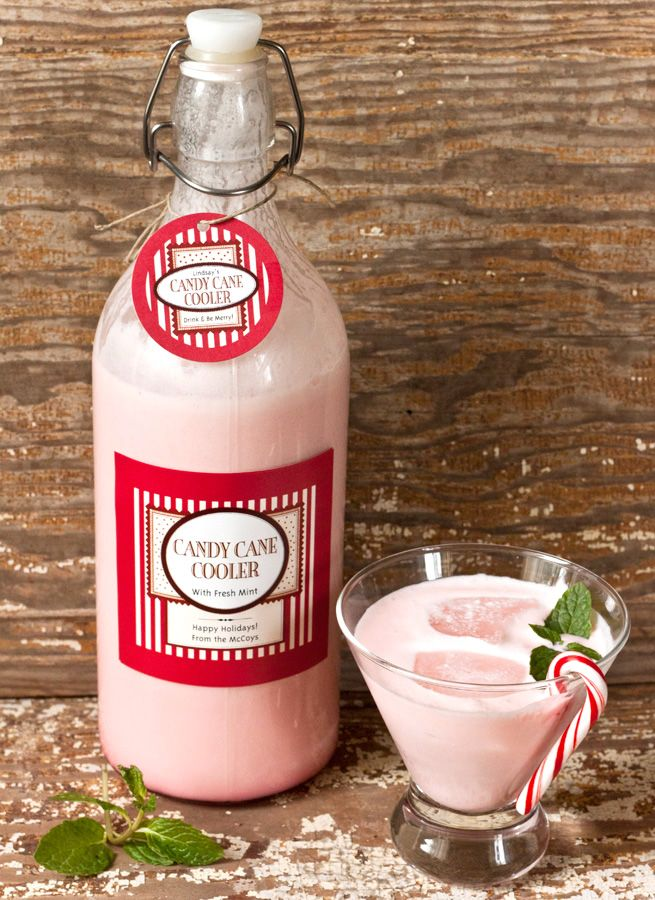 Candy Cane Cooler in 2018 Christmas  Holiday Ideas Pinterest