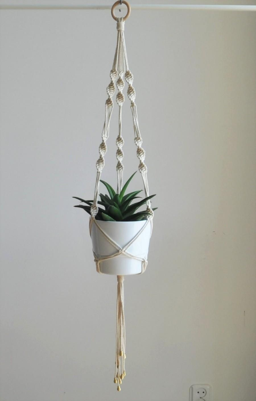 Wedding Plant Hanger, Macrame Plant Hanger, Boho Wedding, Indoor Garden  Planter, Plant Pot Hanger, Rope Macrame Planter, Boho Home Decor