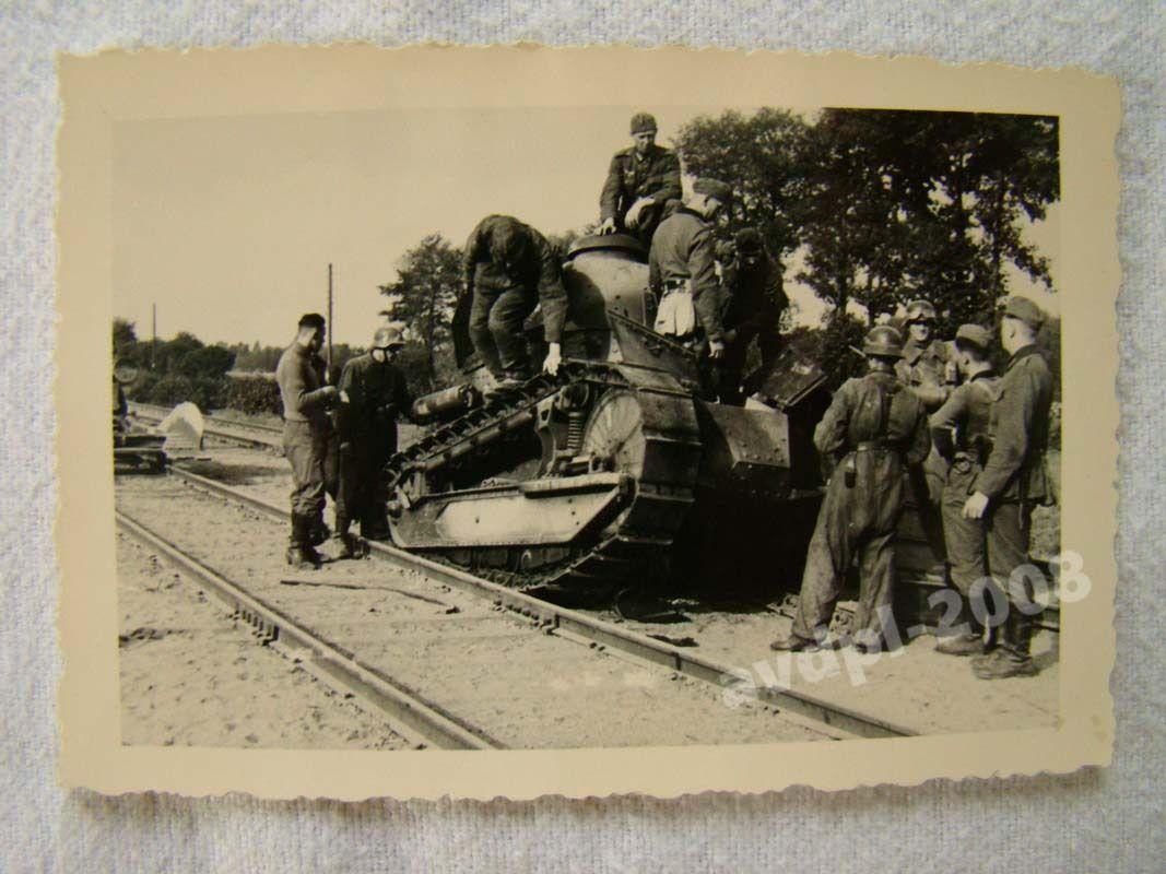 Polen Tank Panzer Beute Foto original 19 eBay