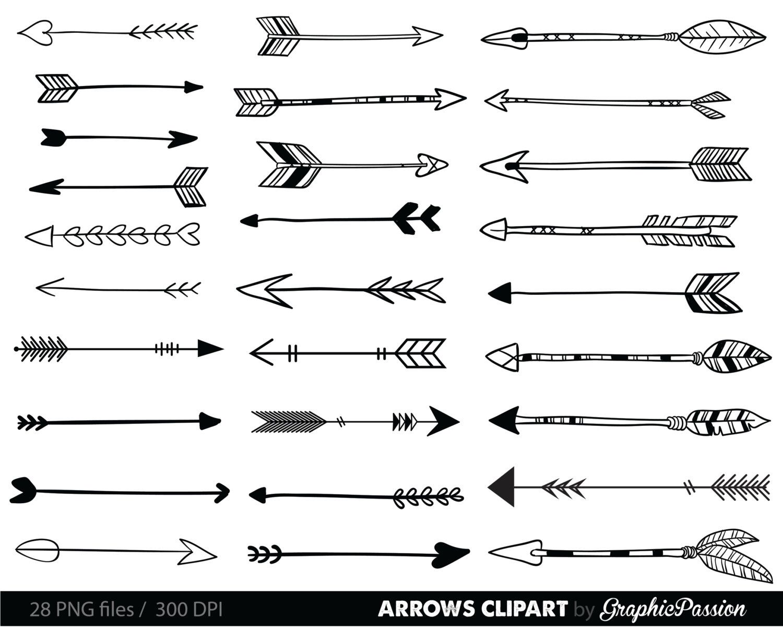 Arrow Clip Art Drawing
