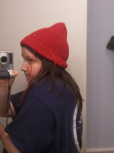 822a4669d77 Team Zissou hat. I hope I have enough time to knit one for a Christmas  present!