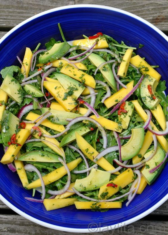 Cancer diets raw food recipe mango avocado and arugula salad cancer diets raw food recipe mango avocado and arugula salad liver cleansing forumfinder Image collections