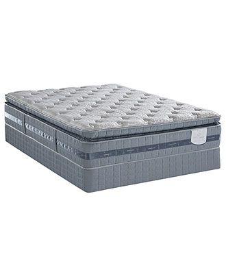 Serta Perfect Sleeper Elite Mattress Sets Serene Breeze Plush Pillowtop Serta Mattresses Macy S Serta Perfect Sleeper Mattress Sets Mattress